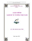 Giáo trình: Lịch sử tư tưởng Việt Nam - ThS. Hoàng Ngọc Vĩnh