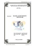 Bài tập lớn: Hệ điều hành Window Server 2003