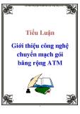 Tiểu luận: Giới thiệu công nghệ chuyển mạch gói băng rộng ATM