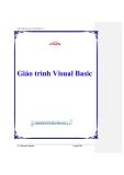 Giáo trình  Hệ điều hành Visual Basic