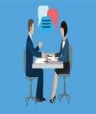 Kỹ năng phỏng vấn trực tiếp