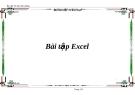 Bài tập học thực hành Excel