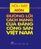 Câu hỏi ôn tập Đường lối cách mạng của Đảng cộng sản Việt Nam