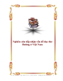 Nghiên cứu tiếp nhận vấn đề đọc thơ Đường ở Việt Nam