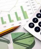 Bài tập Kế toán tài chính - Hình thức nhật ký chung