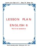 Lesson Plan English 6