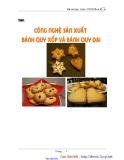 Báo cáo thực hành: Công nghệ sản xuất bánh quy xốp và bánh quy dai