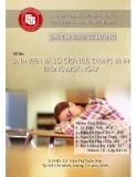 Bài tập kinh tế lượng: Sinh viên và số giờ ngủ trung bình trong một ngày