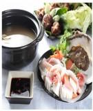 Tự nấu lẩu Miso Nhật