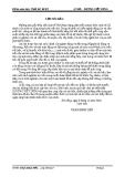Đồ án: tính toán và thiết kế hệ thống nhiên liệu của động cơ theo các thông số kĩ thuật