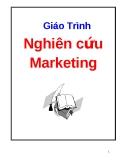 Giáo trình : Nghiên cứu Marketing