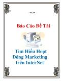 Tiểu luận: Tìm hiểu hoạt động marketing trên Internet