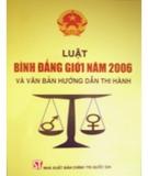 Luật Bình đẳng giới năm 2006