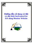 Hướng dẫn sử dụng cài đặt và cấu hình Surfcontrol for ISA dùng Monitor Website