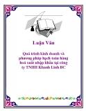 Luận văn : Quá trình kinh doanh và phương pháp hạch toán hàng hoá xuất nhập khẩu tại công ty TNHH Khanh Linh B