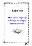 Luận văn : Phân tích và nhận diện chiến lược của công ty Imperial Tobacco