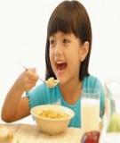 Chế độ Dinh dưỡng với nhiễm khuẩn và miễn dịch ở trẻ em