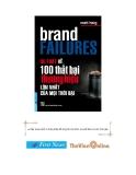 Sự thật về 100 thất bại thương hiệu