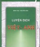 Ebook Luyện dịch Tiếng Anh sang Tiếng Việt - Minh Thu & Nguyễn Hòa