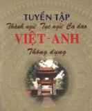 Tuyển tập thành ngữ, tục ngữ, ca dao Anh - Việt thông dụng