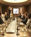 Tiếng Anh thương mại  - Hội họp