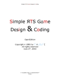 Simple RTS Game Design & Coding