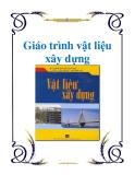 Giáo án vật liệu xây dựng - Ts.Phạm Duy Hữu