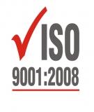 Bảng câu hỏi đánh giá hệ thống quản lý chất lượng theo tiêu chuẩn ISO 9001:2008
