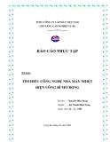 Báo cáo thực tập - Tìm hiểu công nghệ nhà máy nhiệt điện Uông Bí mở rộng