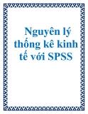 Tài liệu Nguyên lý thống kê kinh tế với SPSS