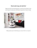 Thoải mái trong căn hộ 40 m²