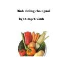 Dinh dưỡng cho người bệnh mạch vành