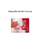 Những điều cần biết về suy tim