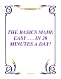 THE BASICS MADE EASY . . . IN 20 MINUTES A DAY!