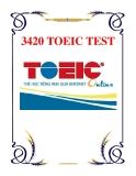 3420 TOEIC TEST
