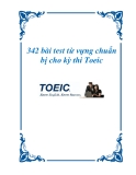 342 bài test từ vựng chuẩn bị cho kỳ thi Toeic