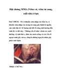Hội chứng MMA (Viêm vú, viêm tử cung, mất sữa) ở lợn