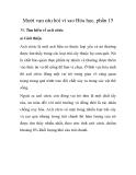 Mười vạn câu hỏi vì sao Hóa học, phần 15