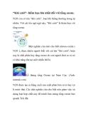 """""""Khí cười""""- hiểm họa lớn nhất đối với tầng ozone."""
