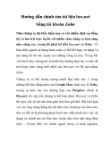 Hướng dẫn chỉnh sửa tài liệu box.net bằng tài khoản Zoho