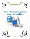Luận văn: Joomla quản lý trang web bán hàng