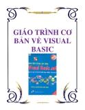 GIÁO TRÌNH CƠ BẢN VỀ VISUAL BASIC