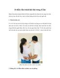 10 điều cần tránh khi tân trang tổ ấm