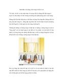Sành điệu với phong cách trang trí nhà từ vải