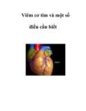 Viêm cơ tim và một số điều cần biết