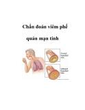 Chẩn đoán viêm phế quản mạn tính