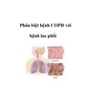 Phân biệt bệnh COPD với bệnh lao phổi