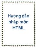 Bài hướng dẫn nhập môn HTML