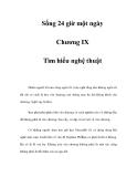 Sống 24 giờ một ngày - Chương IX