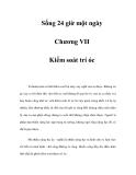 Sống 24 giờ một ngày - Chương VII